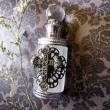 Gothic Cross Embellished Perfume Bottle