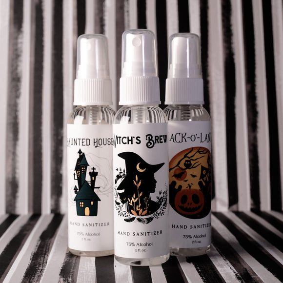 Halloween Pack Alcohol-based Hand Sprays (Set Of Three)