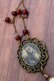 Alice In Wonderland Victorian Inspired Necklace