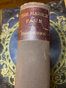 The Marble Faun by Nathaniel Hawthorne, 1888