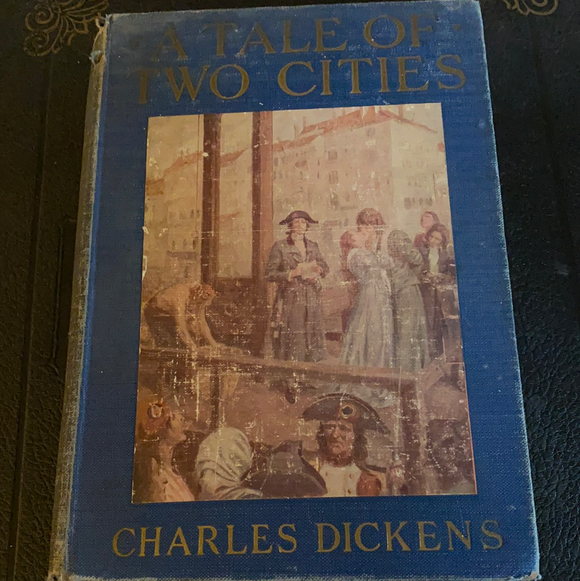 A Tale Of Two Cities, Charles Dickens, Illustrated, 1925