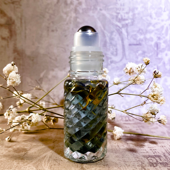 Serenity: A calming, soothing botanical ritual oil