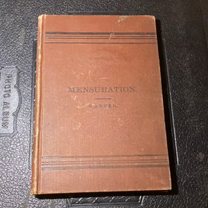 Elements Of Mensuration by Charles Dudley Warner, 1886 (First Edition)