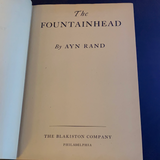The Fountainhead, Ayn Rand 1943 Early Edition