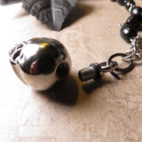 Stainless Steel Skull Urn Perfume Or Memorial Necklace