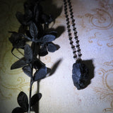 Black Tourmaline Necklace (RESERVED for Tracey G.)