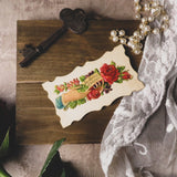"""An Offering Of True Love"" Victorian Hidden Name Calling Card"
