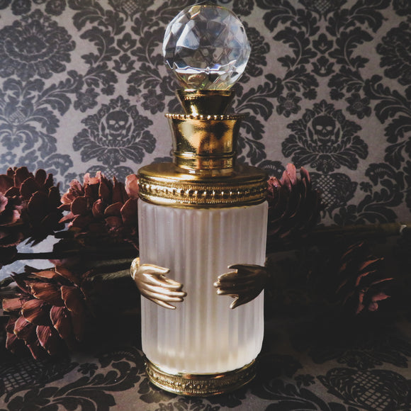 Victorian Hands Embellished Perfume Bottle