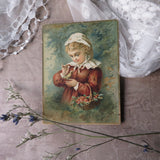 Antique Victorian Christmas Card (Raphael Tuck & Sons)