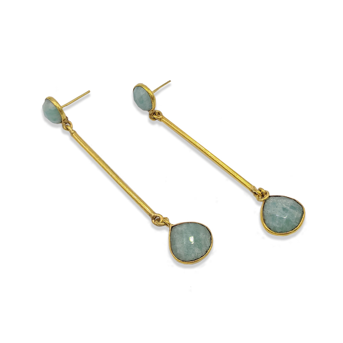 Earring G Drop Stone Earrings