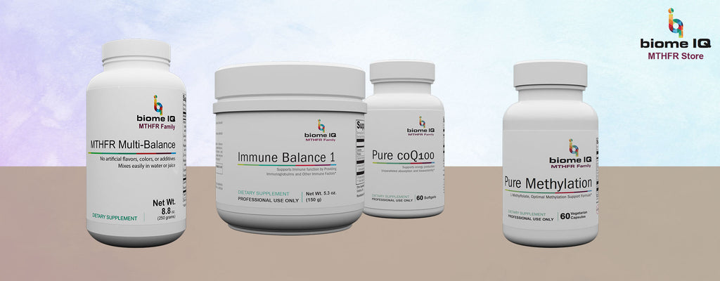 BiomeIQ MTHFR Mutations Supplements - C/C Essentials Package