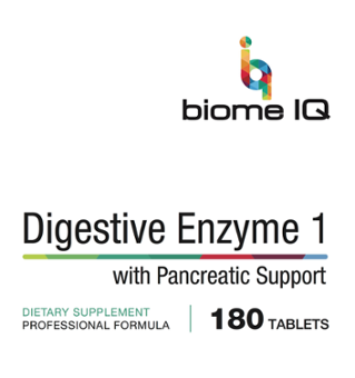 BiomeIQ MTHFR Supplements - Digestive Enzyme 1