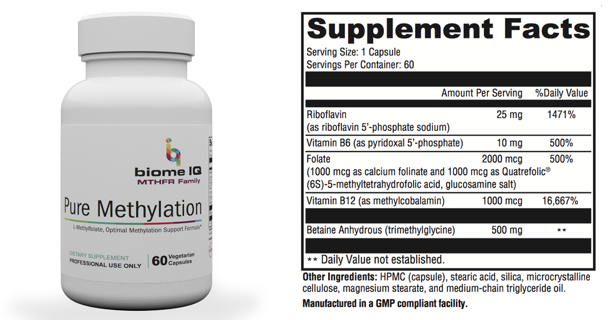 Pure Methylation & Calcium D PLUS