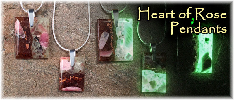 Heart of Rose Pendants