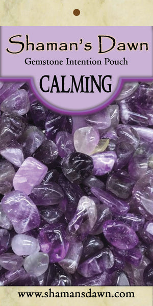 Gemstone Intention Pouch- Calming