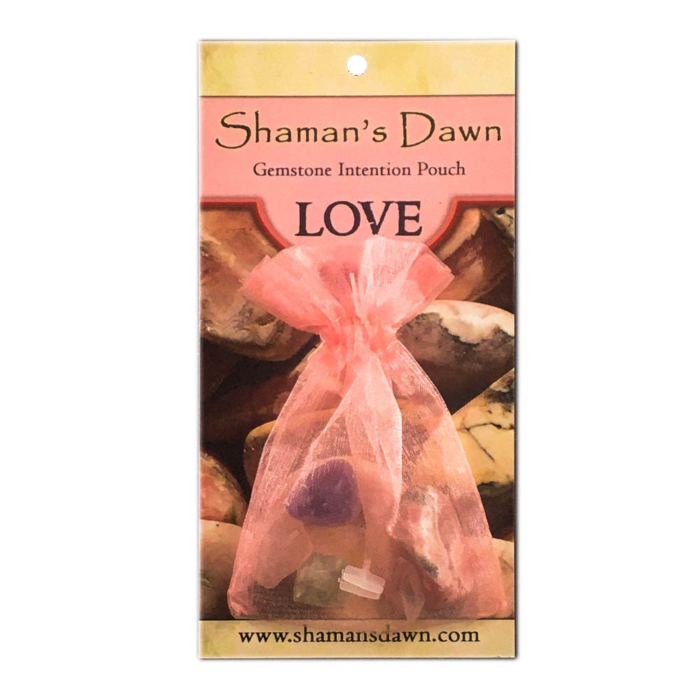 Gemstone Intention Pouch- Love