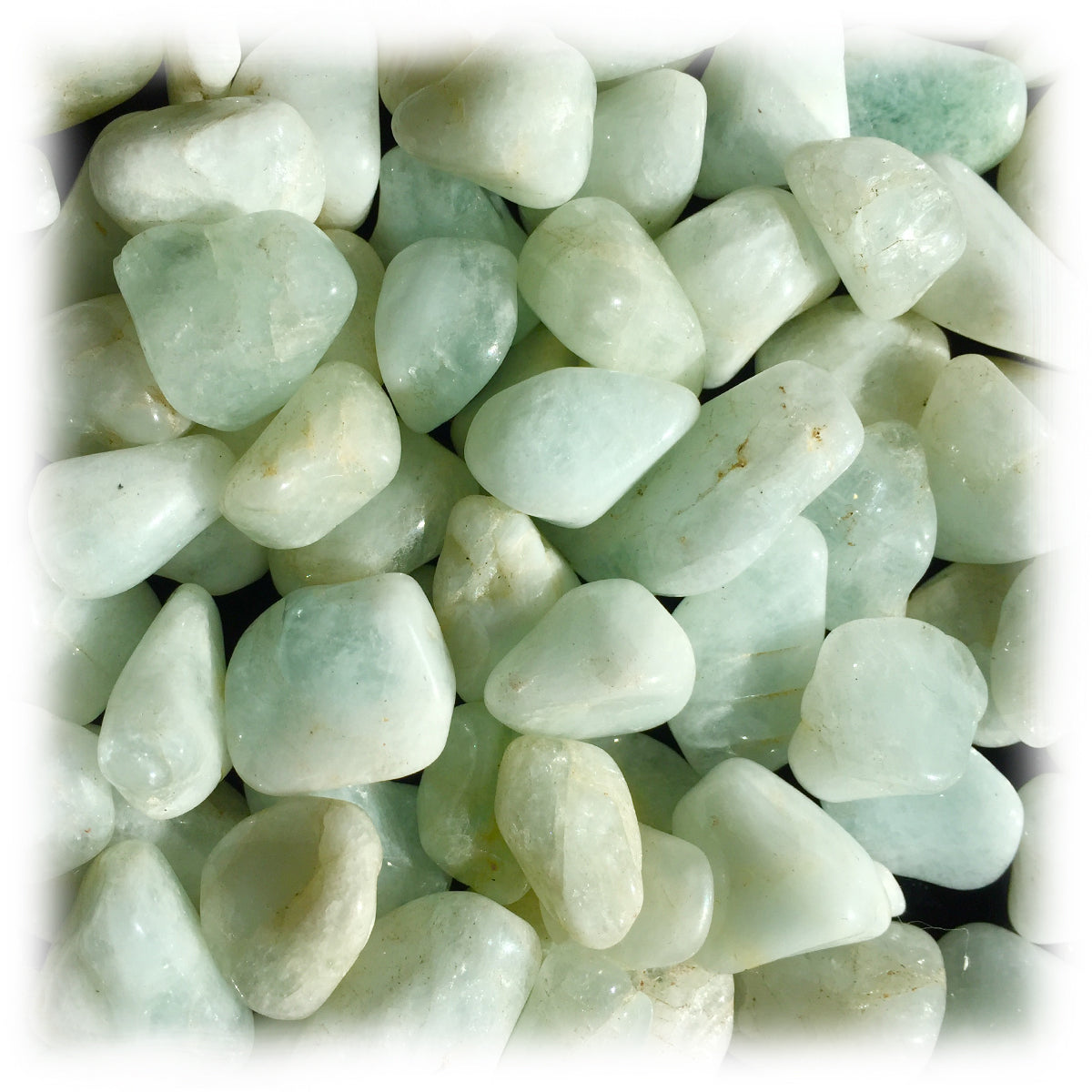 Tumbled Aquamarine