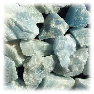Raw Calcite - Blue
