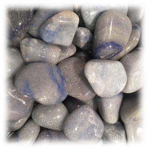 Tumbled Blue Quartz