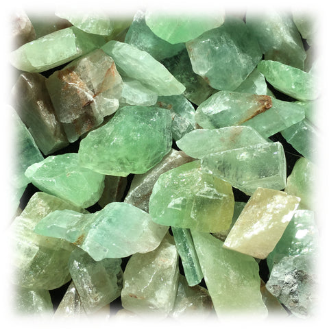 Raw Calcite - Green