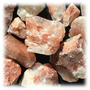 Raw Calcite - Red