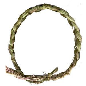 Sweetgrass Braid - (Organic) - Grown on our land