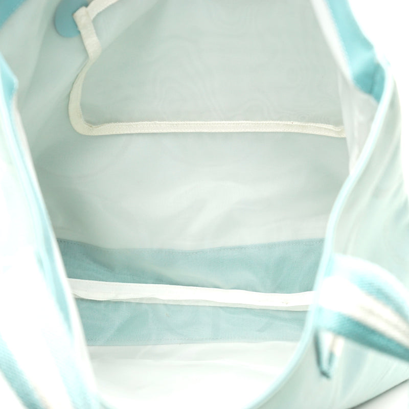 Pre-loved authentic Gucci Tote Bag Light Blue Canvas sale at jebwa