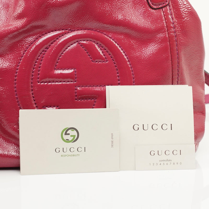 Pre-loved authentic Gucci Soho Convertable Hand Bag sale at jebwa