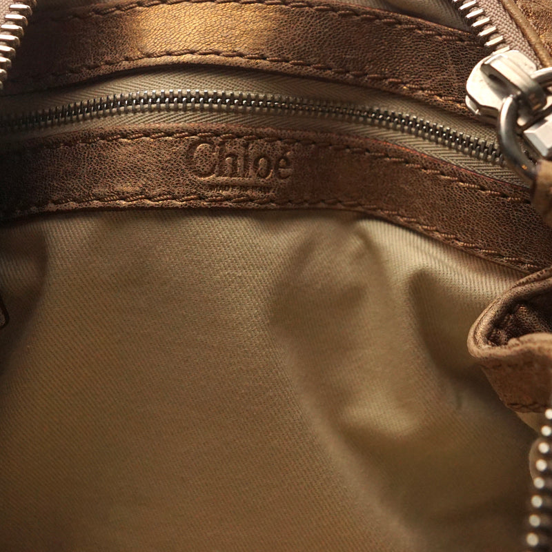 Pre-loved authentic Chloe Mini Paddington Handbag sale at jebwa