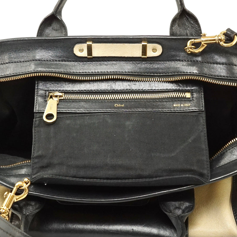 Pre-loved authentic Chloe Navy Blue Leather Hand Bag sale at jebwa