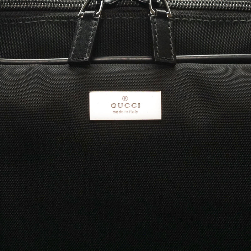 Pre-loved authentic Gucci Mint Cond. Travel Bag Black sale at jebwa