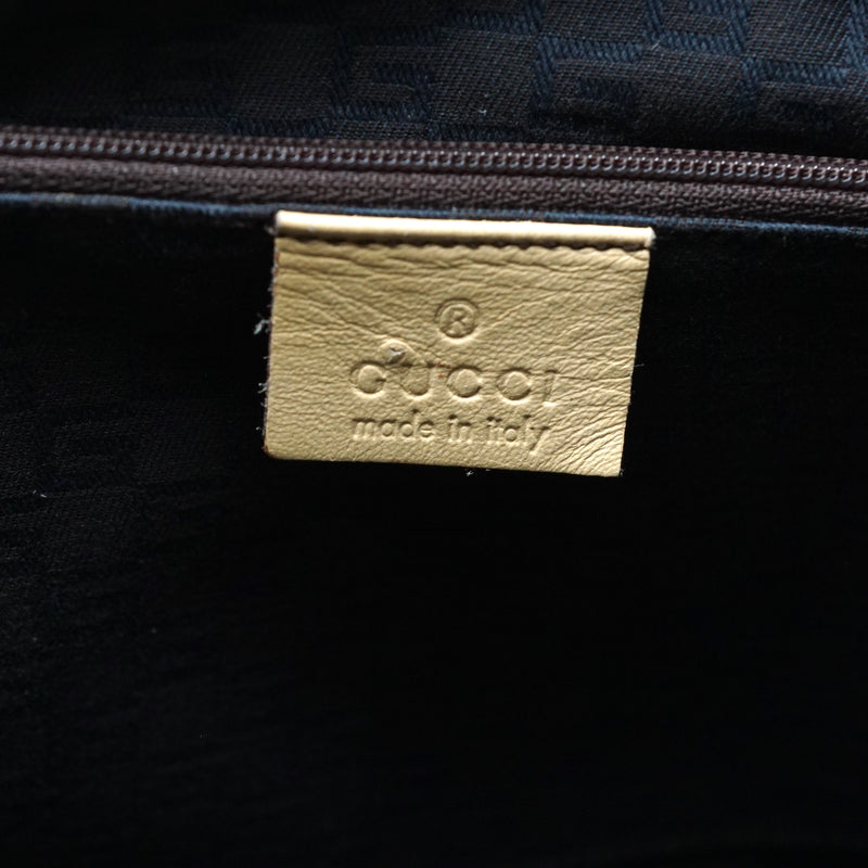 Pre-loved authentic Gucci Hand Bag Cream Leather sale at jebwa