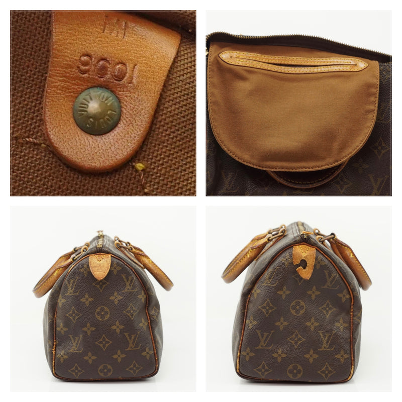 Louis Vuitton Speedy 25 Bag Satchel