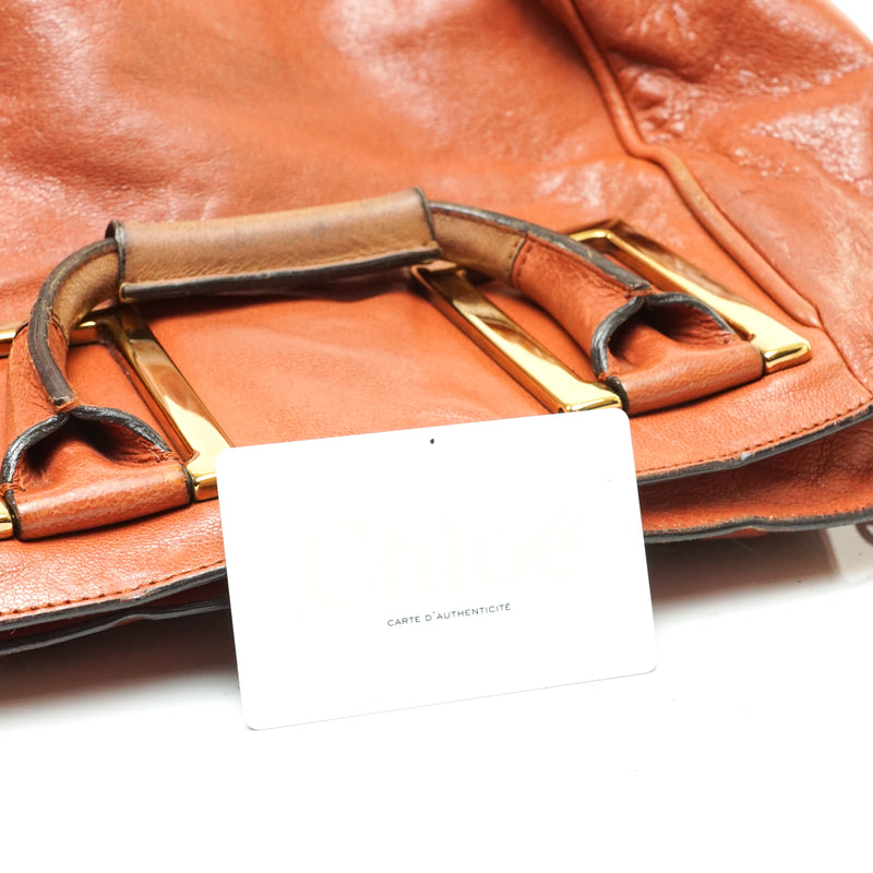 Pre-loved authentic Chloe Convertable Bag Lambskin sale at jebwa.