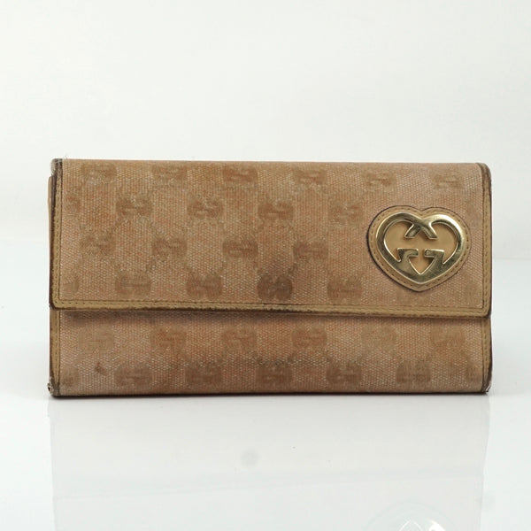 Pre-loved authentic Gucci Gg Canvas Long Wallet sale at jebwa