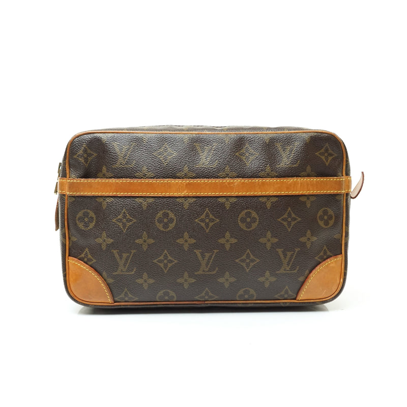 Pre-loved authentic Louis Vuitton Compiegne 28 Brown sale at jebwa.
