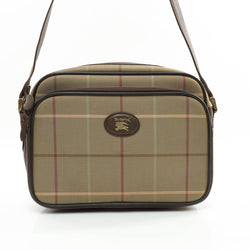 Burberry Crossbody Bag Canvas Brown