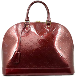 Pre-loved authentic Louis Vuitton Alma Gm Bordeaux Hand sale at jebwa