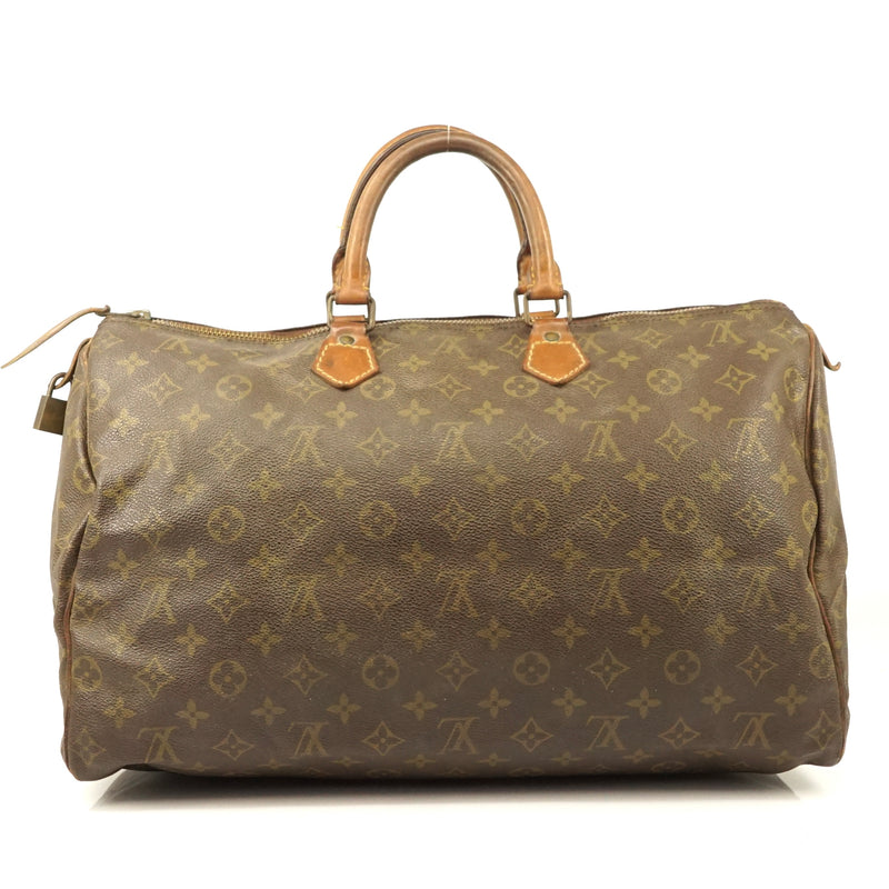 Pre-loved authentic Louis Vuitton Speedy 40 Boston sale at jebwa