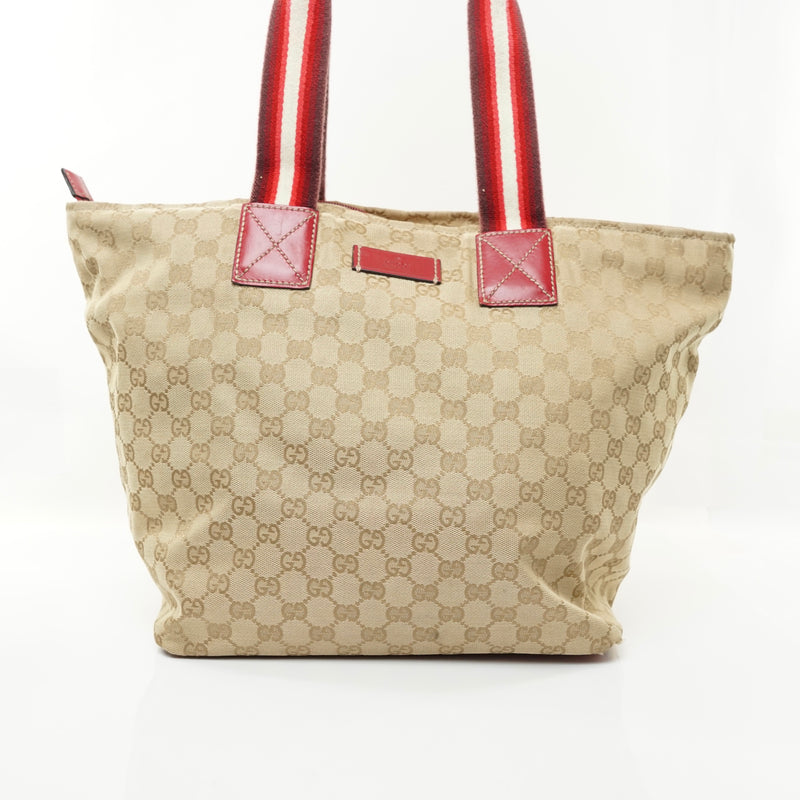 Pre-loved authentic Gucci Tote Bag Beige Canvas sale at jebwa.