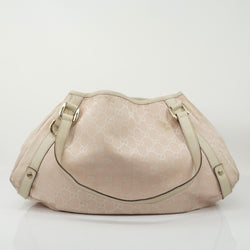 Gucci Pink Canvas Bag