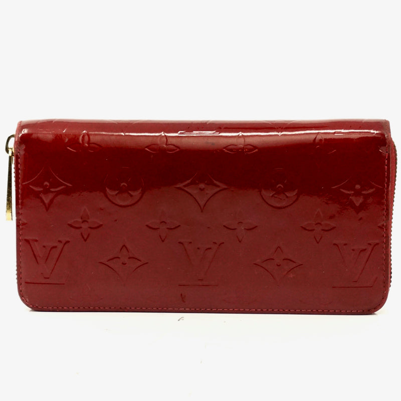 Pre-loved authentic Louis Vuitton Zippy Wallet Pomme sale at jebwa