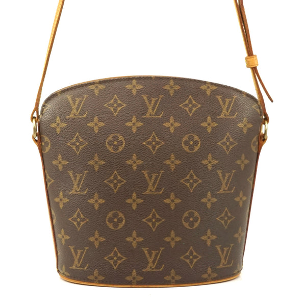 Pre-loved authentic Louis Vuitton Drouot Crossbody sale at jebwa