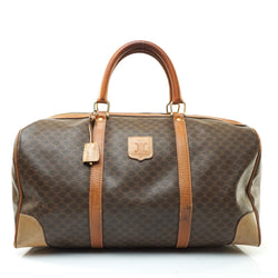 Pre-loved authentic Celine Macadam Boston Bag Travel sale at jebwa.