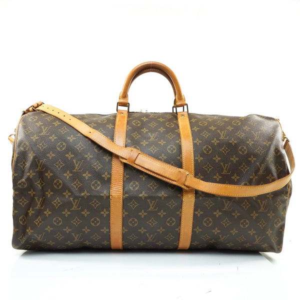 Pre-loved authentic Louis Vuitton Keepall 60 sale at jebwa.
