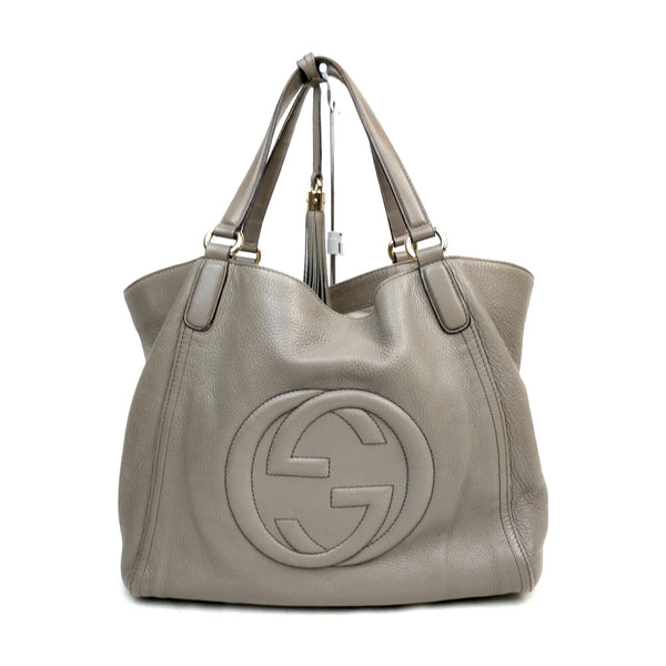 Gucci Soho Large Tote Bag Leather