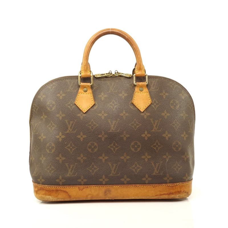 Pre-loved authentic Louis Vuitton Alma Satchel Bag sale at jebwa