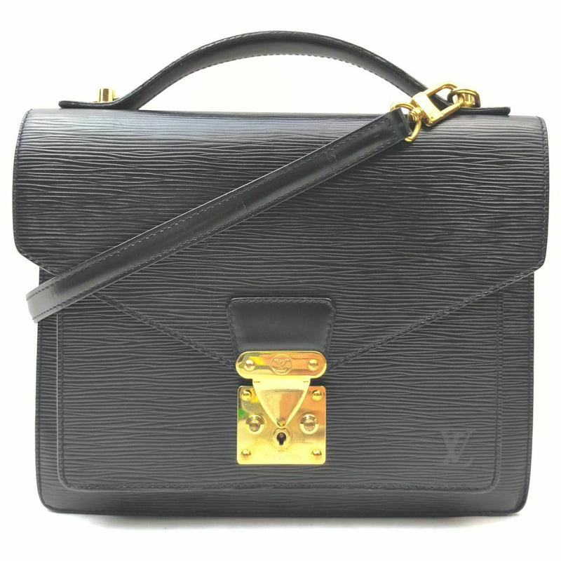 Pre-loved authentic Louis Vuitton Monceau Crossbody Bag sale at jebwa.