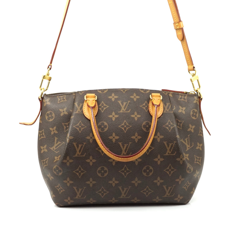 Pre-loved authentic Louis Vuitton Turenne Pm Brown sale at jebwa