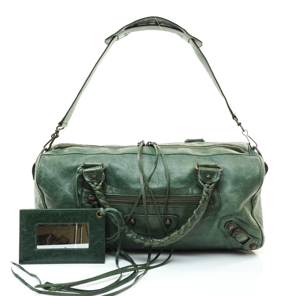 Balenciaga City Hand Bag Green